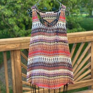 Collective Concepts Women Patterned Tank Top